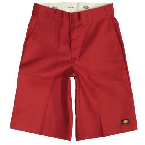 Dickies Men/'s 13 Inch Loose Fit Multi-Pocket Work Short Red