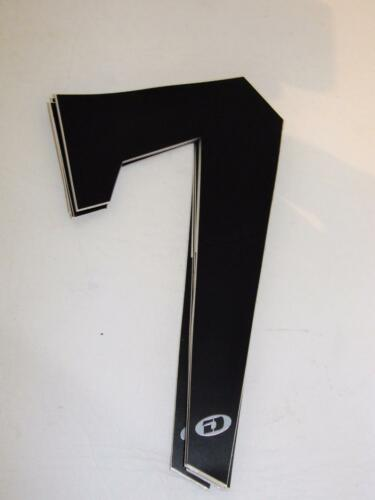 5 7 8 ~ Old School DYNO D-Force BMX Single Number Plate Numbers  4 9 ~ 6