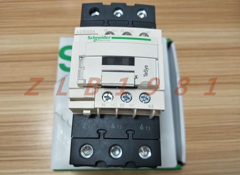 ONE Schneider contactor LC1D40A AC contactor coil AC110V LC1-D40AF7C