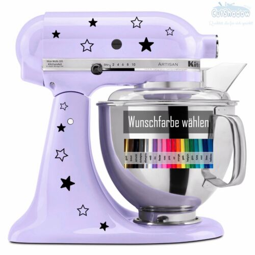 12x étoiles Autocollant KitchenAid Kitchen Aid ~ mors de CUISINE machine Star Sticker