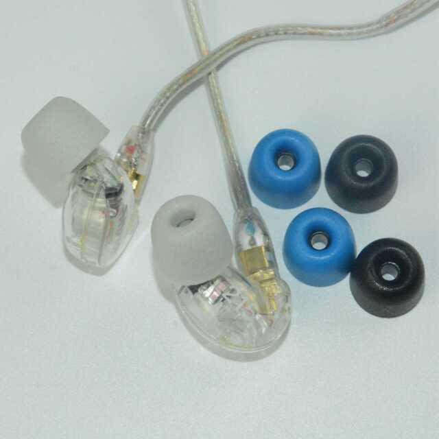 3mm For Westone W10 W20 W30 SHURE SE112 SE215 In-Ear Headphones Ear Plugs