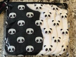 NWT 7 PACK OF WOMENS NO SHOW SOCKS IN A BAG SHOE SIZE 4-10 Black White