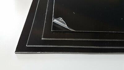 matt//matt 5 Pack Black Polystyrene Sheet Plasticard HIPS A5-A3 0.5 0.75 /& 1mm