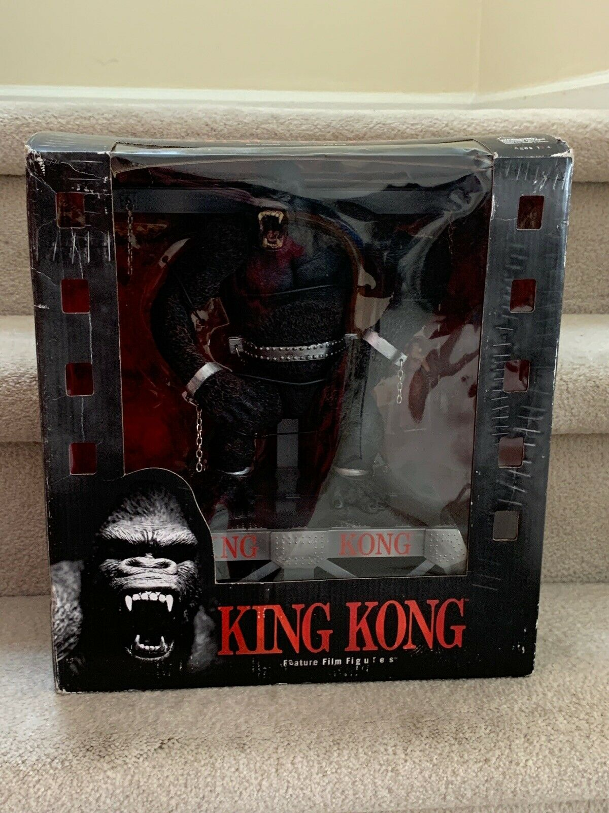 McFarlane Toys Movie Maniacs 3 King Kong Deluxe Box Action Figure NIB
