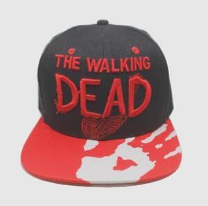 The Walking Dead Logo Adjustable Baseball Cap Hip Hop Snapback Hat ... 1882f135175