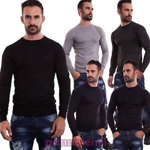 Maglione-uomo-maniche-lunghe-TOOCOOL-pullover-lana-girocollo-casual-maglia-M-009