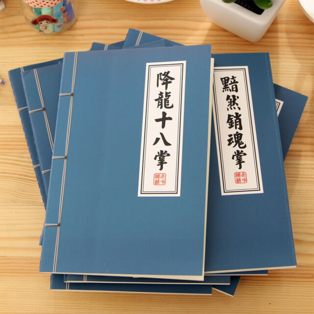 Retro Chinese Style Pattern Notebook Notepad Sketchbook School Office Supply t