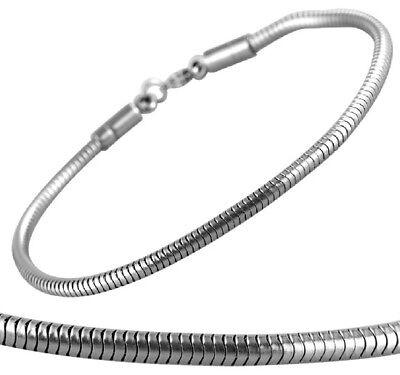 Versilbert Armreif Schmuck Schlangenkette einstellbare Armbänder SchmuckFT