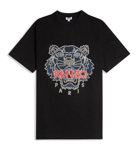 Kenzo Men/'s Tiger T-Shirt in Black