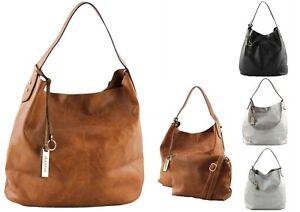 Shopper Handtasche Crossbag Schultertasche Hobo XL Tasche Umhängetasche Damen