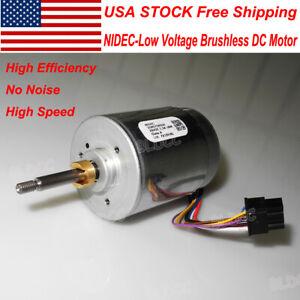 NIDEC 12V/18V/24V High Speed 18W Brushless DC Motor With
