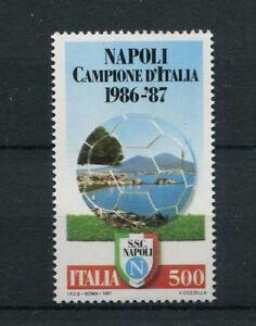 Italia-1987-Napoli-campione-d-039-Italia-1819-Mnh