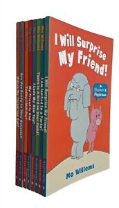 Mo-Willems-Elephant-and-Piggie-8-Books-Young-Children-Kids-Today-I-Will-Fly-New