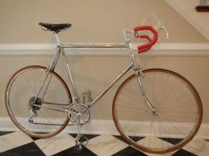 ALL-CHROME CUSTOM FRANKLIN Campagnolo Campy Columbus SP Steel Bicycle Bike Cycle
