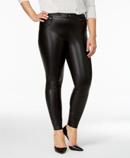 edfb7adb7b1c0 Buy HUE Womens Plus Size - 3x Faux Leather Leggings Black online | eBay