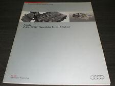 Audi A4 B8  A6 C7  2,0l TFSI flexible Fuel Motor  SSP 439  Stand  05/2010