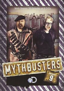 Details about Mythbusters: Season 9 [DVD] [2014]