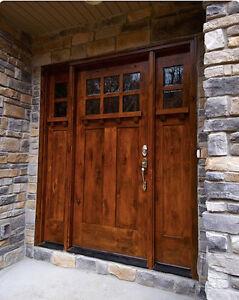 Lovely Image Is Loading HIGHLAND STYLE CRAFTSMAN KNOTTY ALDER ENTRY DOOR 3
