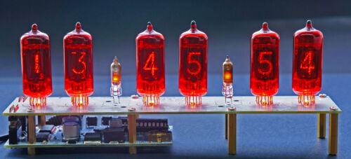 GRA/&AFCH WITH TUBES Arduino comp. Nixie Clock on Z573 Tubes Musical USB