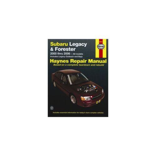 Genuine Haynes Owners Workshop Service Manual For Subaru Legacy /& Forester 00-06
