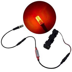 LED flame effects light ember orange & flicker controller - prop scenery EOKIT1