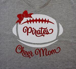 6fa4c19e4996 Cheer Mom Shirt - Custom Glitter Cheer Mom Tank or Shirt with Team ...