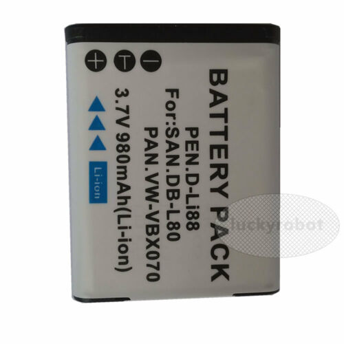 Cámara Digital batería para Toshiba Camileo Bw10 Sx500 Sx900 Px1686 px1686e-1brs