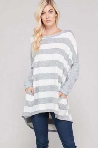 Striped Ellia Ellia Top Top Sweater Striped Sweater qOIOwgF