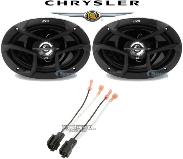 Jvc 6x9 U0026quot  Rear Factory Car Speaker Replacement Kit For 2001 Chrysler Sebring