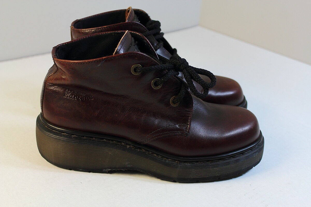 Dr Martins Air Wair Ankle Boots shoes Women 9.5 (UK 7) England