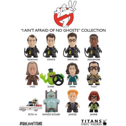 Ghostbusters nouveaux chiffres de Titans Vinyl Collection Set of 4 Figures