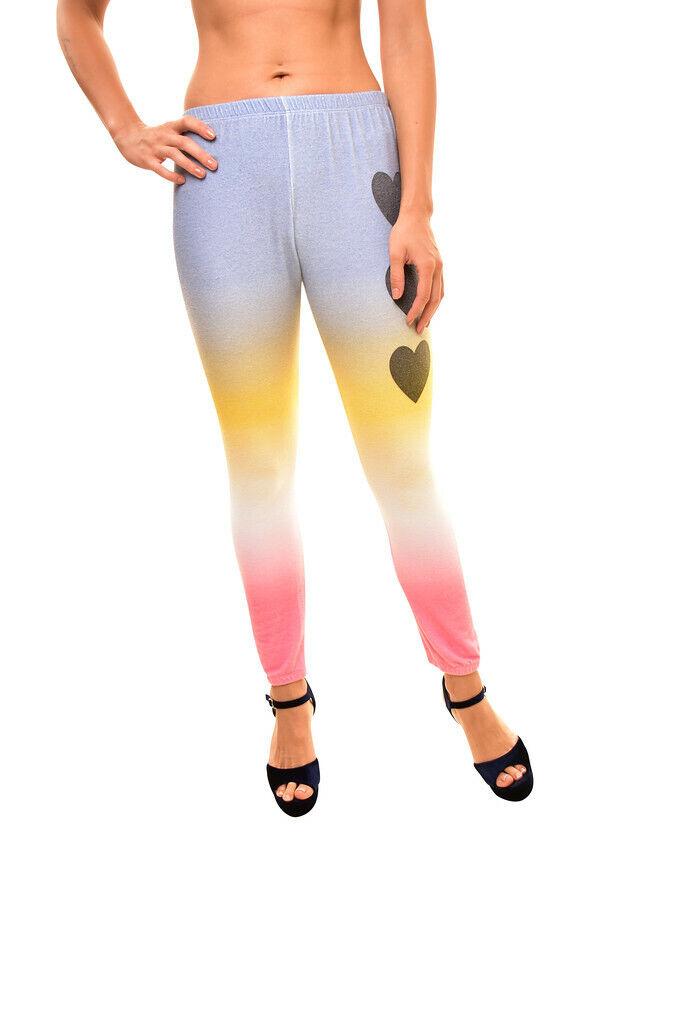 Wildfox Womens Knox WSV61736T Pants Perfect Heart Multi Size S