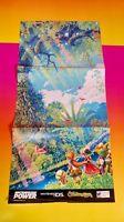 Children Of Mana - Nintendo Power Original Rare Poster Gba Wii Wii U Snes Ds