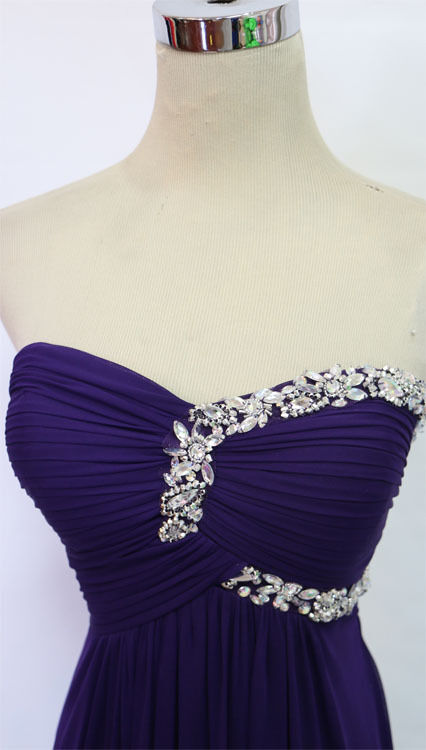 BLONDIE NITES lila Prom Formal Evening Gown 1 - NWT