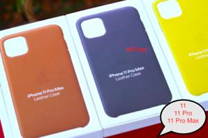iPhone-11-11-Pro-11-Pro-Max-Apple-Echt-Original-Leder-Schutz-Huelle-5-Farbe