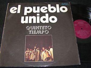 QUINTETO-TIEMPO-El-Pueblo-Unido-unique-DDR-LP-1975-AMIGA-855415