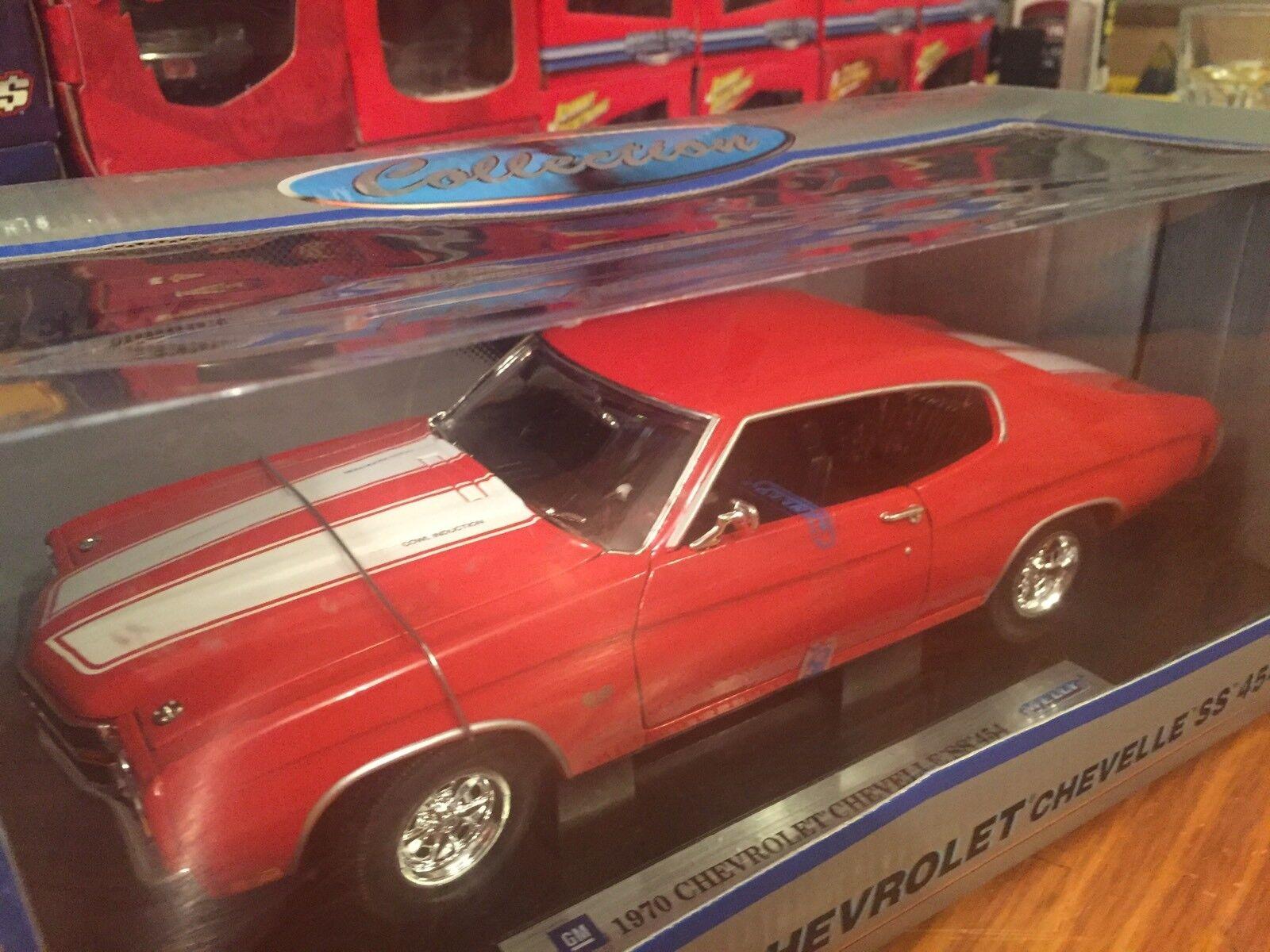 producto de calidad Welly Welly Welly 1 18 1970 Chevy Chevelle SS454 artículo 9855W  punto de venta de la marca