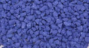 100% Vrai Aqua Gravel Bleu Foncé 2 Kg (pack De 5)-afficher Le Titre D'origine Une Large SéLection De Couleurs Et De Dessins