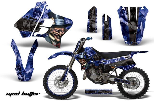 Graphic Kit Decal Sticker Wrap + # Plates For Yamaha YZ125 YZ250 93-95 MAD K U