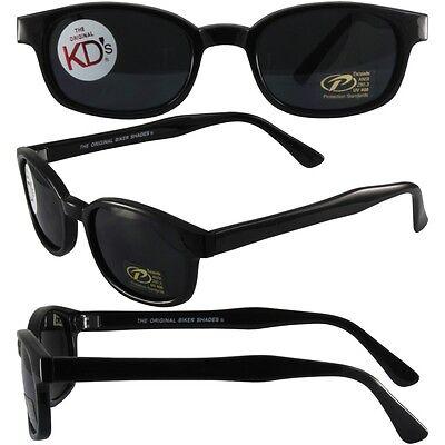 Sons of Anarchy Style Original KD/'s Biker Sunglasses w// Dark Grey Lenses