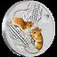 miniatuur 1 - Australien 50 Cents 2020 Jahr der Maus | Mouse (1.) Lunar III. 1/2 Oz Silber ST
