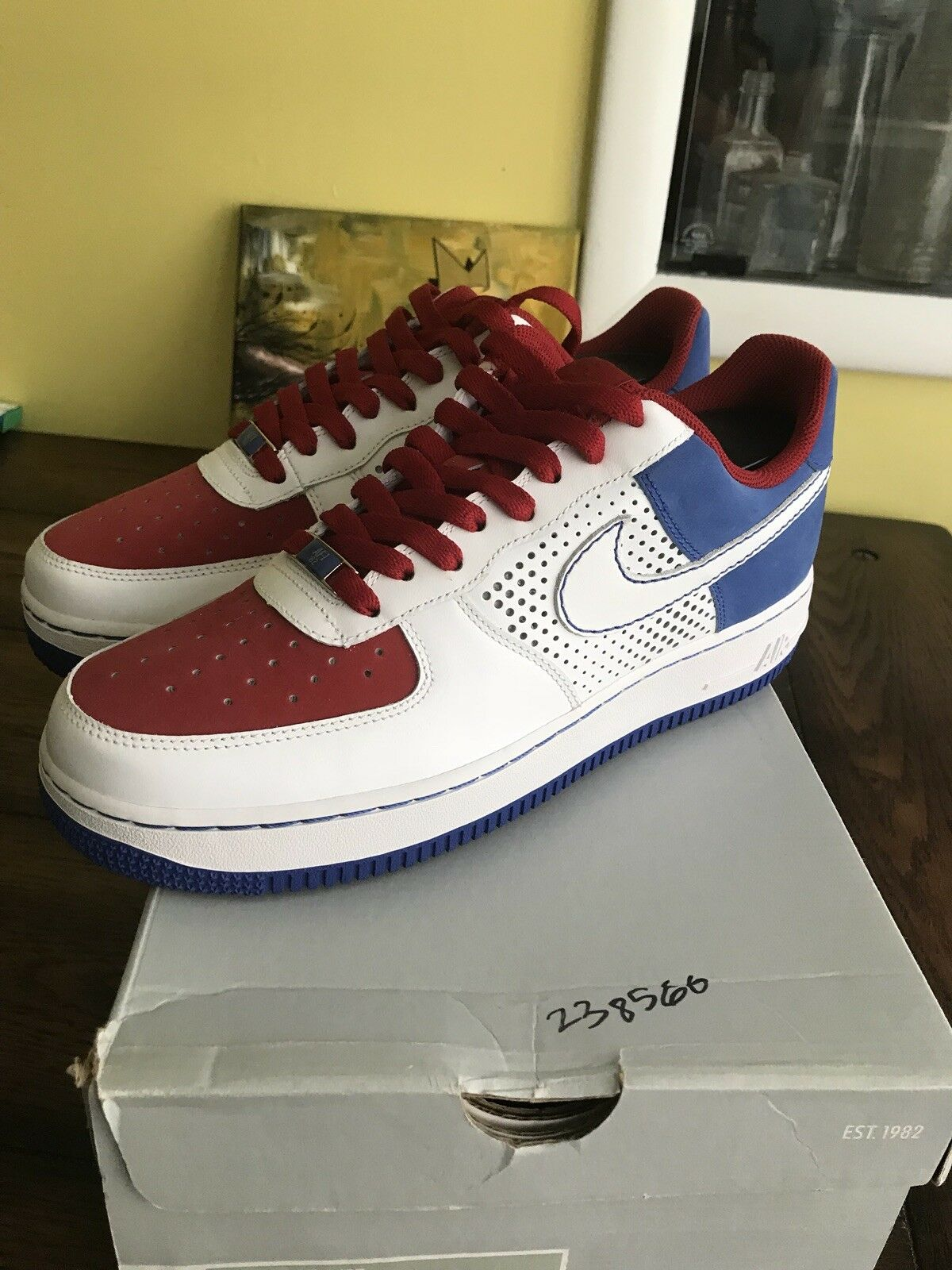 2007 Nike Air Force 1 315122 113