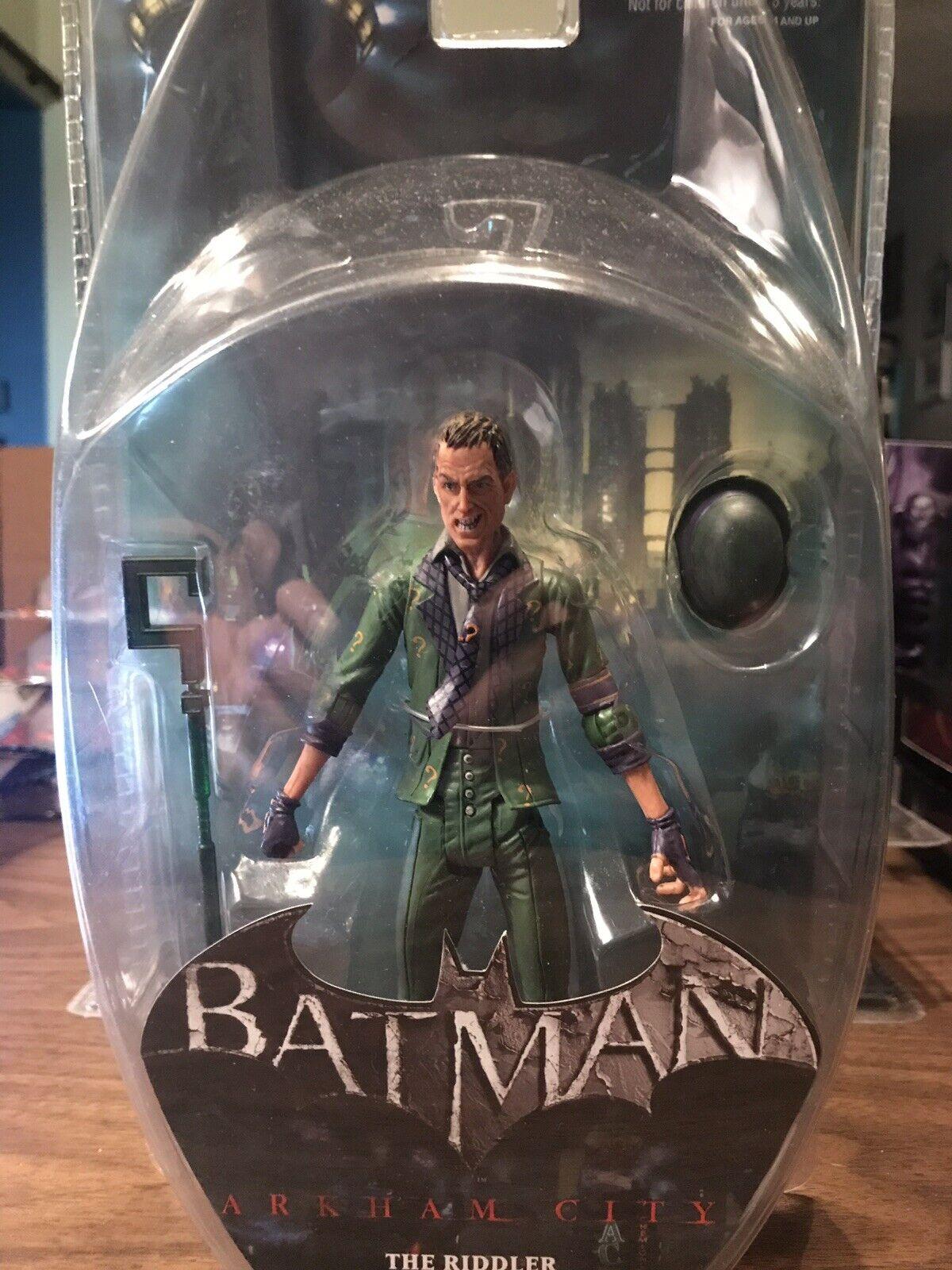 Batman Arkham City Series 2 The Riddler Figure DC Direct 2012