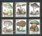 Bulgarie 1991 champignons Yvert n° 3352 à 3357 neuf ** 1er choix
