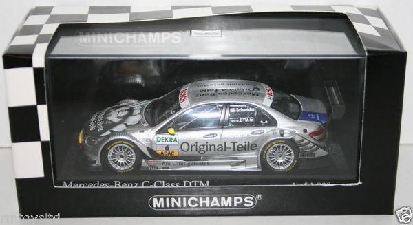 Minichamps 1 43 400 083806 Mercedes C Class DTM 2008 Team AMG B SCHNEIDER