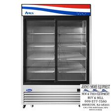 Atosa Mcf8709gr Sliding Glass Two2 Door Refrigerator Bottom Mount Warranty