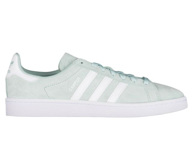Frequently bought together. Adidas Campus Mens DB0982 Ash Green White  Nubuck Suede Athletic Shoes Size 14 cb52309782