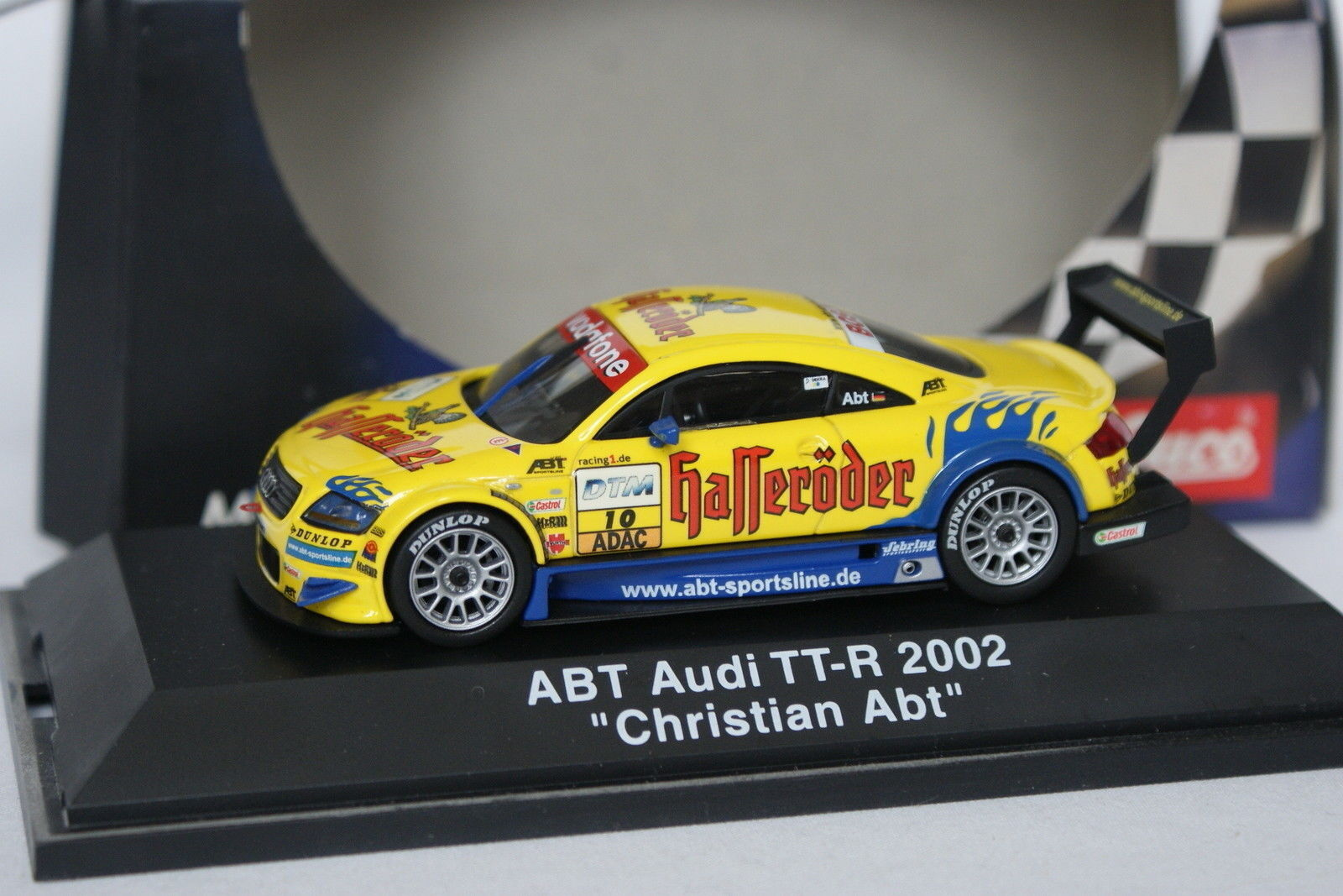 Schuco 1 43 - AUDI TT R 2002 2002 2002 ABT 49d4f9