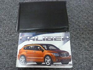 2007 Dodge Caliber R T >> Details About 2007 Dodge Caliber Hatchback Owner Operator Manual User Guide Book Sxt R T Cvt
