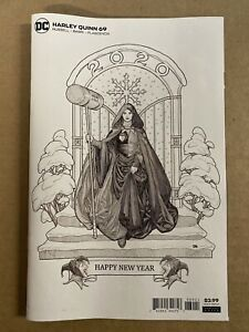 Harley Quinn #69 Cho Happy New Year Variant DC Comic 1st Print 2019 unread NM